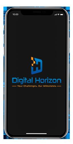 تطبيقات الموبايل 1 | شركة الأفق الرقمي - DIGITAL HORIZON | برامج حلول الأعمال
